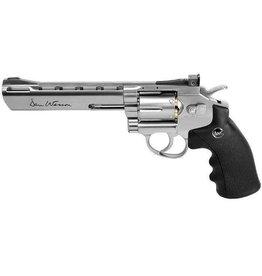 "Dan Wesson Dan Wesson 6"" c02 Pellet Revolver Speedloader, weaver rail .177"
