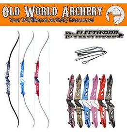"Fleetwood Muddy Girl Knight Recurve 62"" 25# RH"