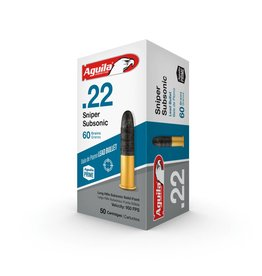 AGUILA AGUILA 22 SNIPER SUBSONIC 60gr 50ct
