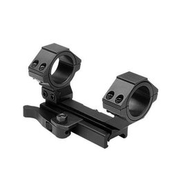 "NcSTAR NcStar AR15 QR WEAVER  MOUNT/ CANTILEVER SCOPE MOUNT REAR RING/30MM & 1"" INSERTS"