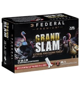 "Federal Ammunition Federal Grand Slam 12g 3"" 5 Shot"
