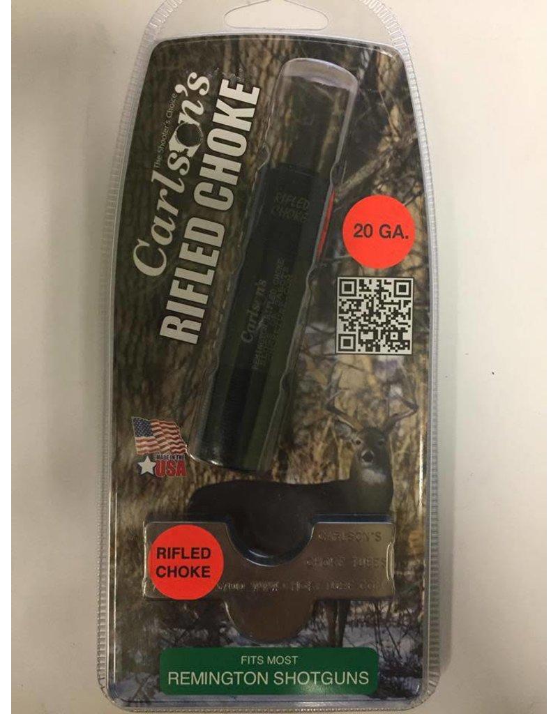 Carlson's Choke Tubes Carlson's Rifled Choke Tubes 20GA Fits most Remington  Shotguns