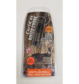 Carlson's Choke Tubes Beretta & Benelli Mobil 12GA Carlson's Rifled Choke Tube