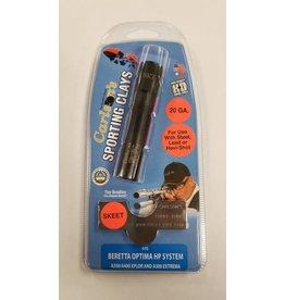 Carlson's Choke Tubes Beretta Optima HP 20 Gauge Black Sporting Clays Choke Tube