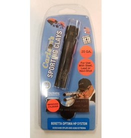 Carlson's Choke Tubes Beretta Optima HP 20 Gauge Black Sporting Clays Choke Tube