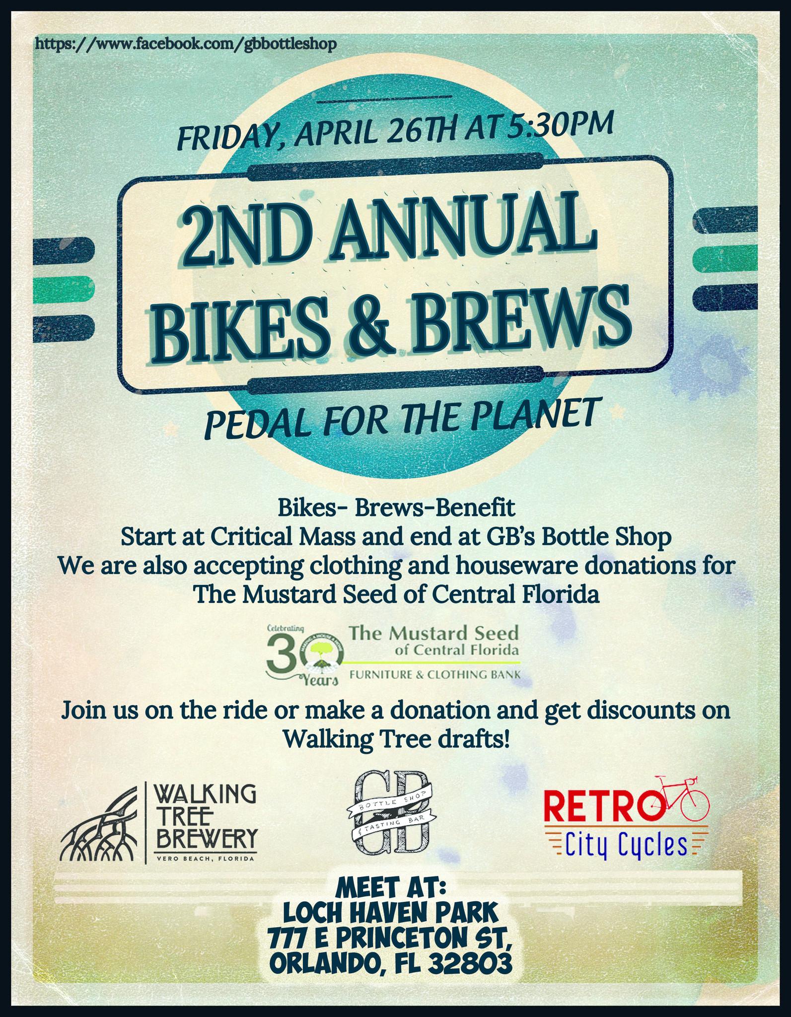 2nd Annual Bikes & Brews!