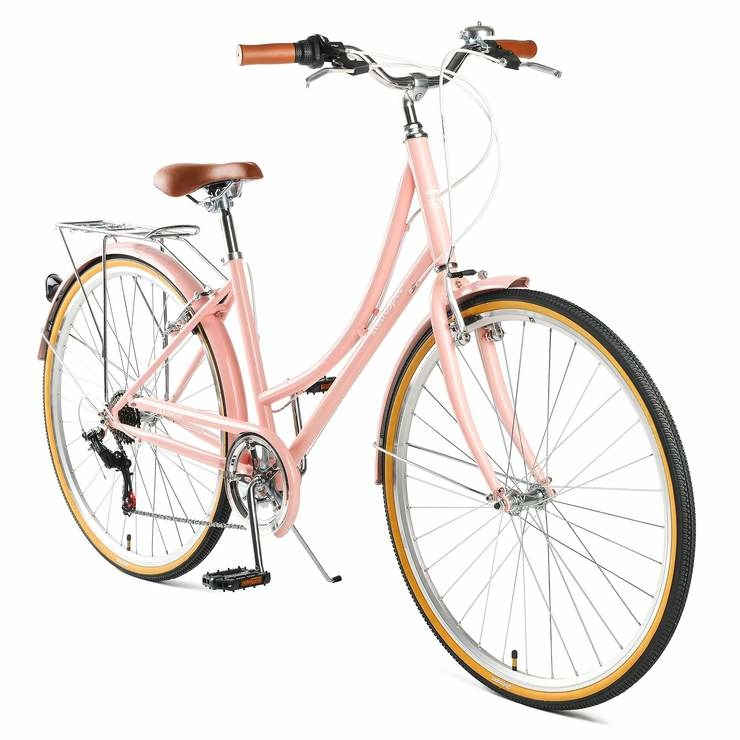 Retrospec Beaumont 7sp Blush Pink