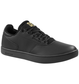 FiveTen MEN'S DISTRICT CLIPS BLACK/BLACK/GOLD SIZE 9