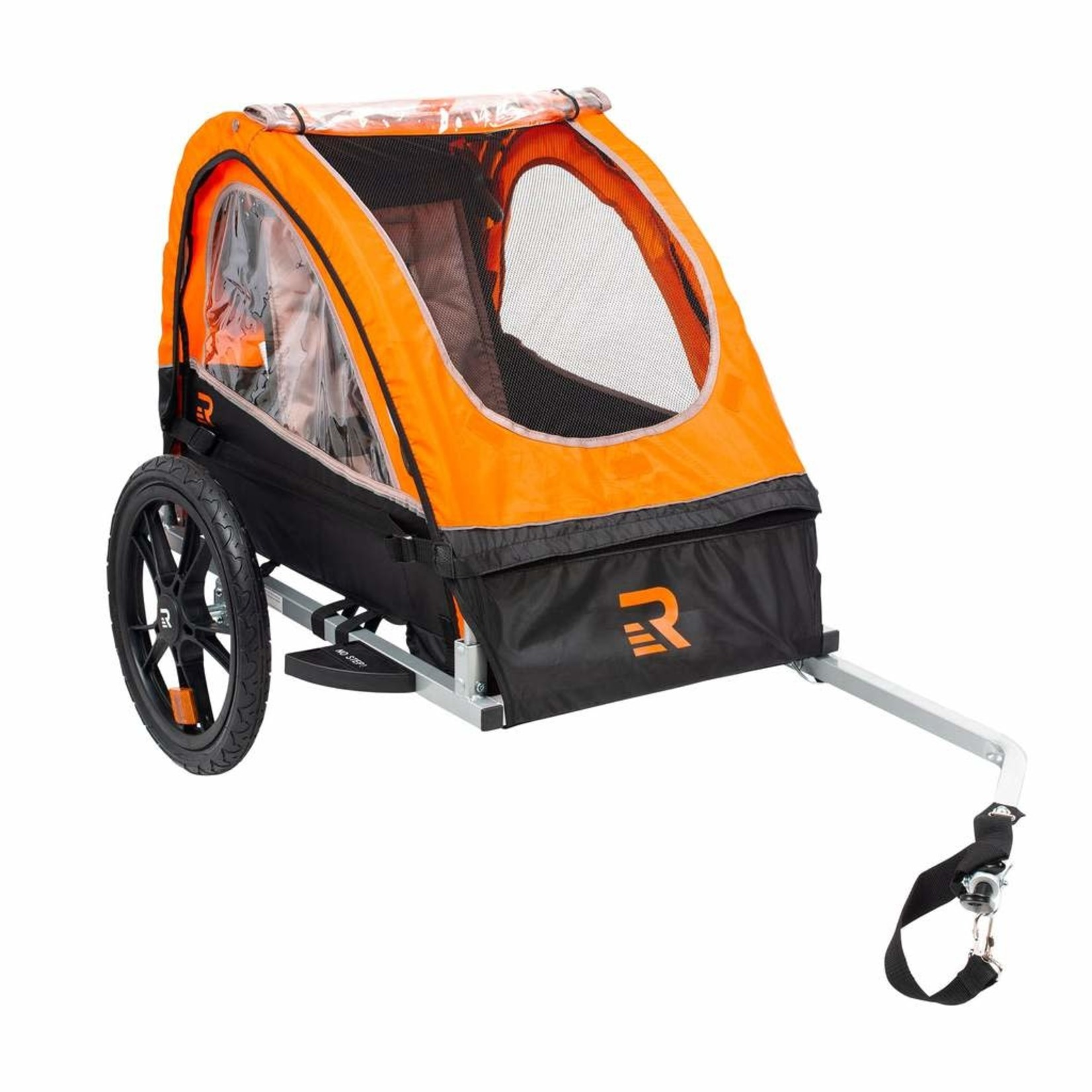 Retrospec Rover Bike Trailer 1 pass Orange