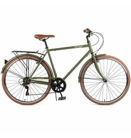 Retrospec Beaumont 7sp Matte Olive 54 cm