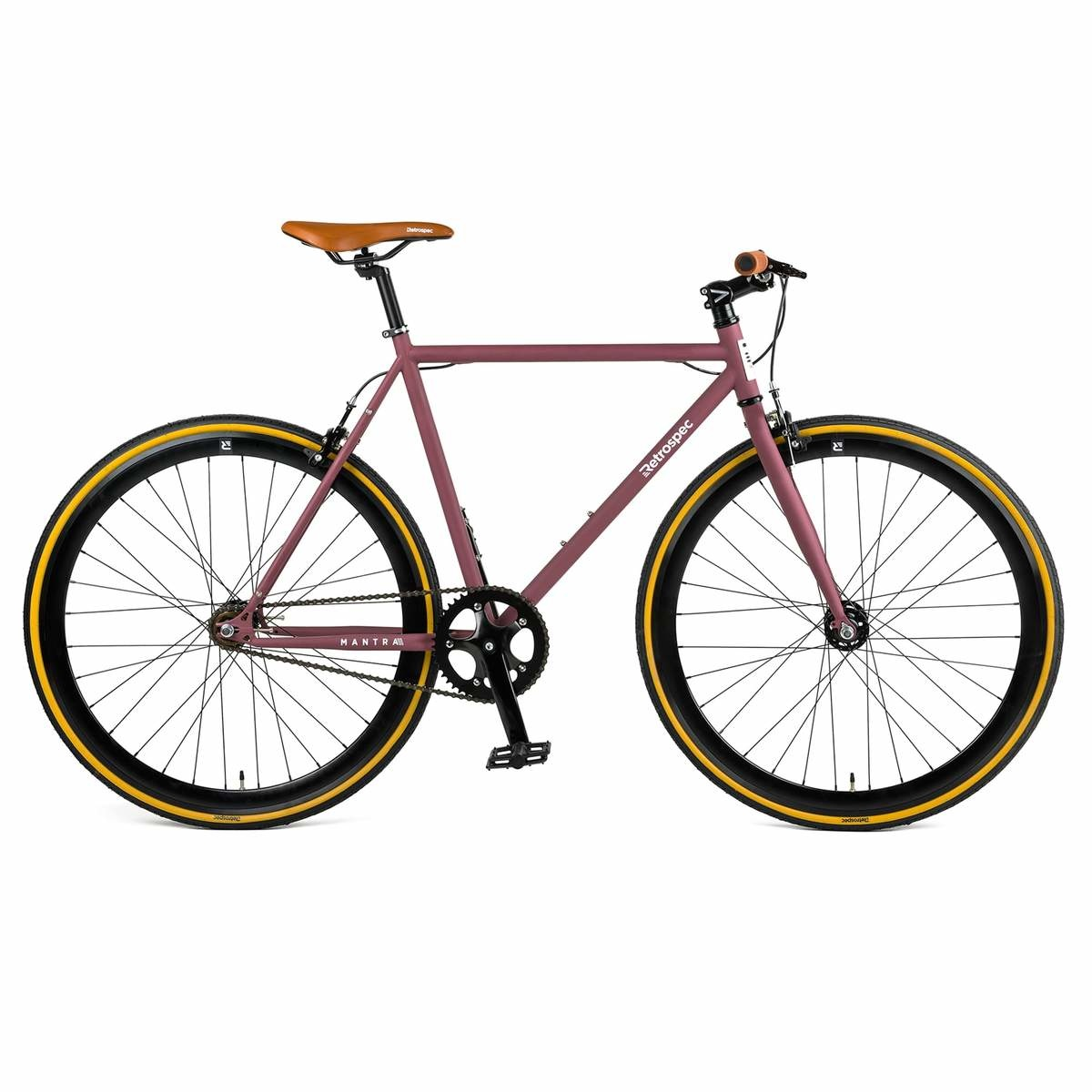 Retrospec Mantra Matte Crimson 49 cm