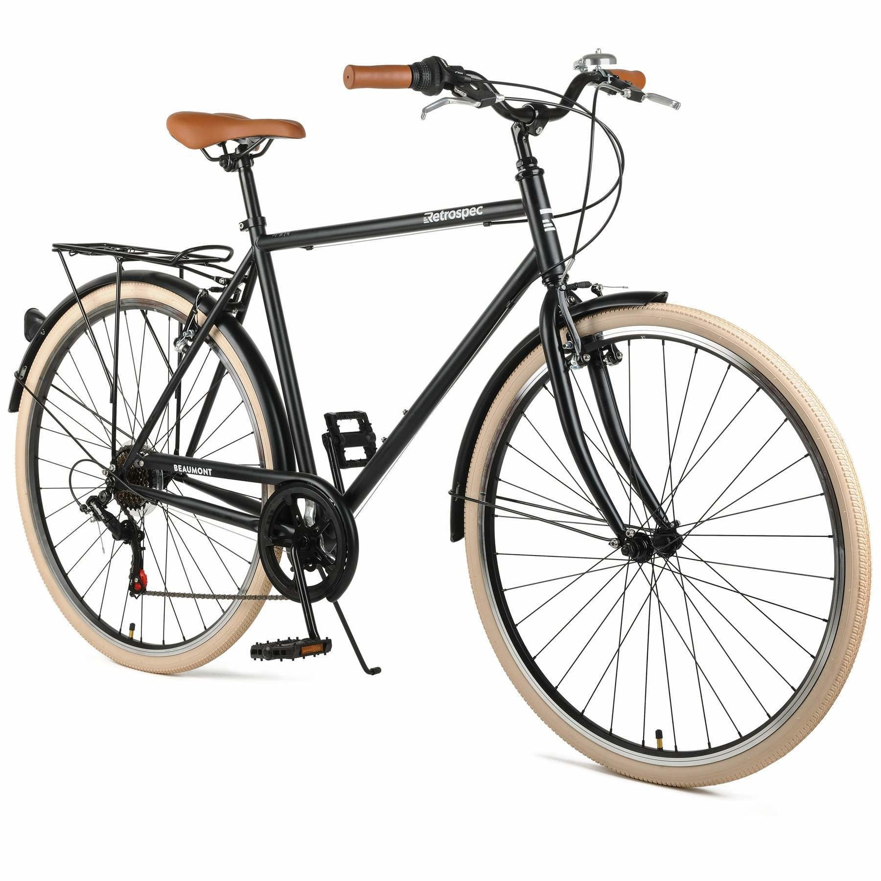 Retrospec Retrospec Beaumont 7sp Matte Black 50 cm