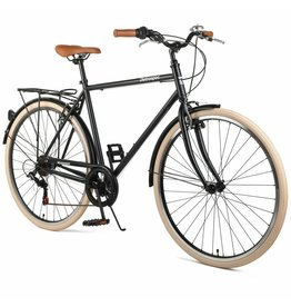 Retrospec Retrospec Beaumont 7sp Matte Black 54 cm
