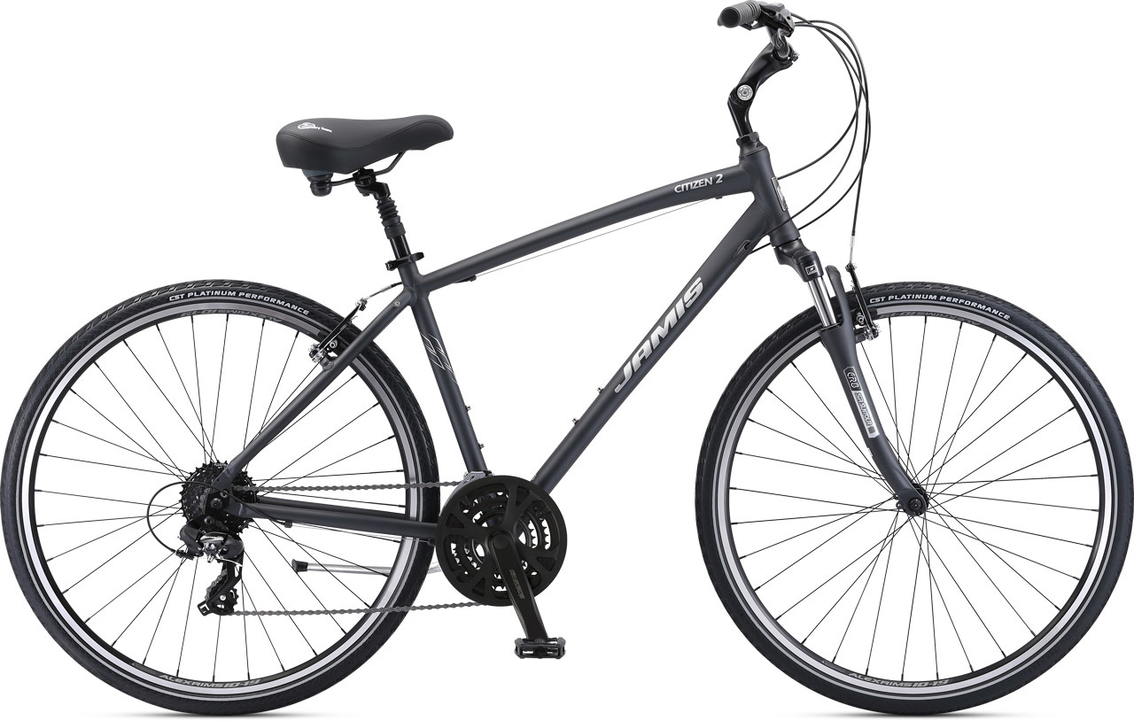 Jamis 2021 Citizen 2  Charcoal 17""
