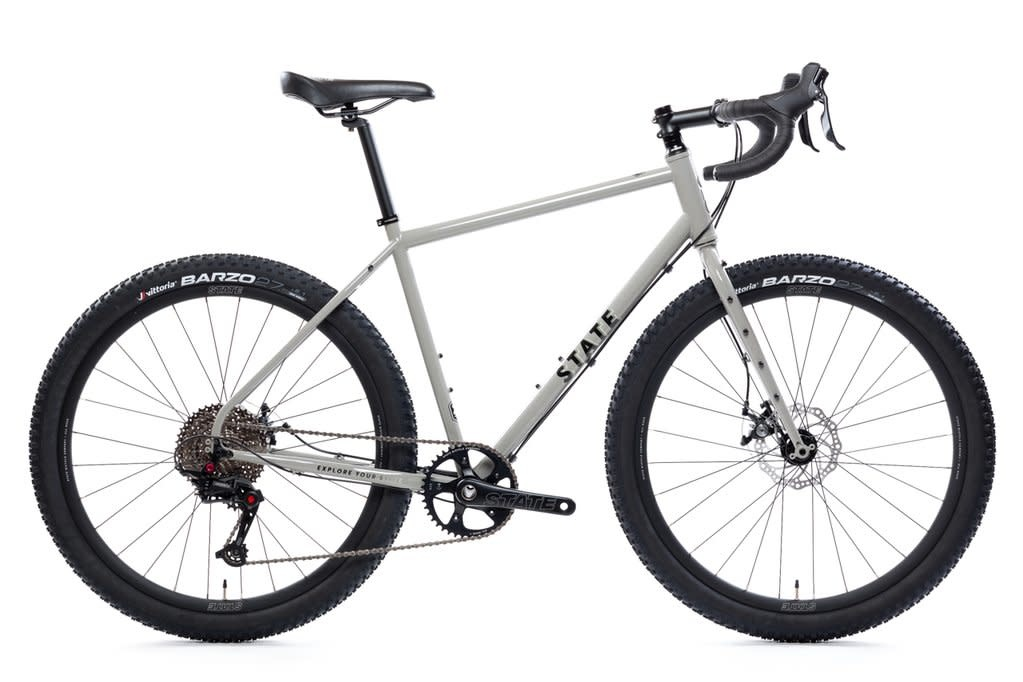 State Bicycle Co. 4130 All Road Pigeon Gray XS