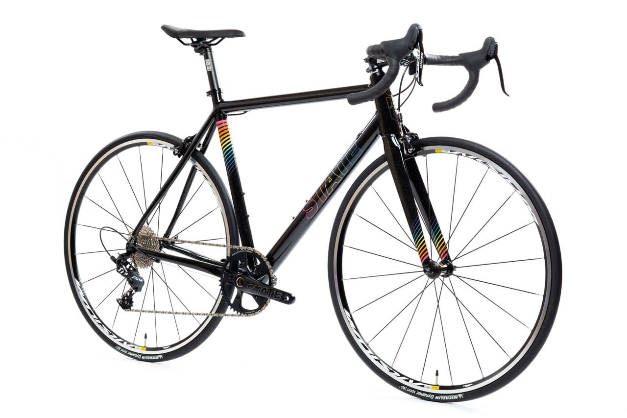 State Bicycle Co. Undefeated Road Black Prism Edition 55 cm