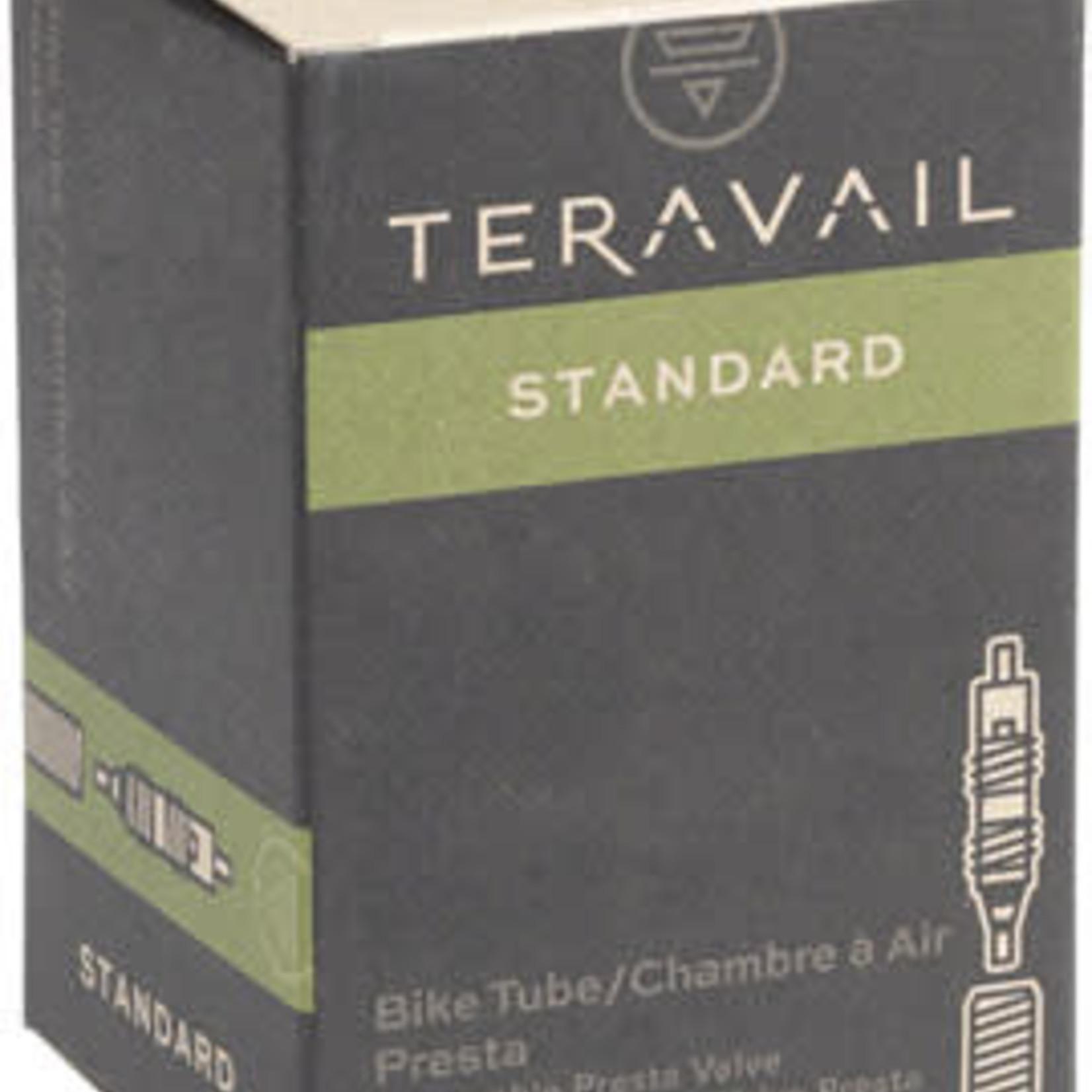 TUBE Q-Tubes / Teravail 650c x 18-23mm 48mm Presta Valve Tube 89g