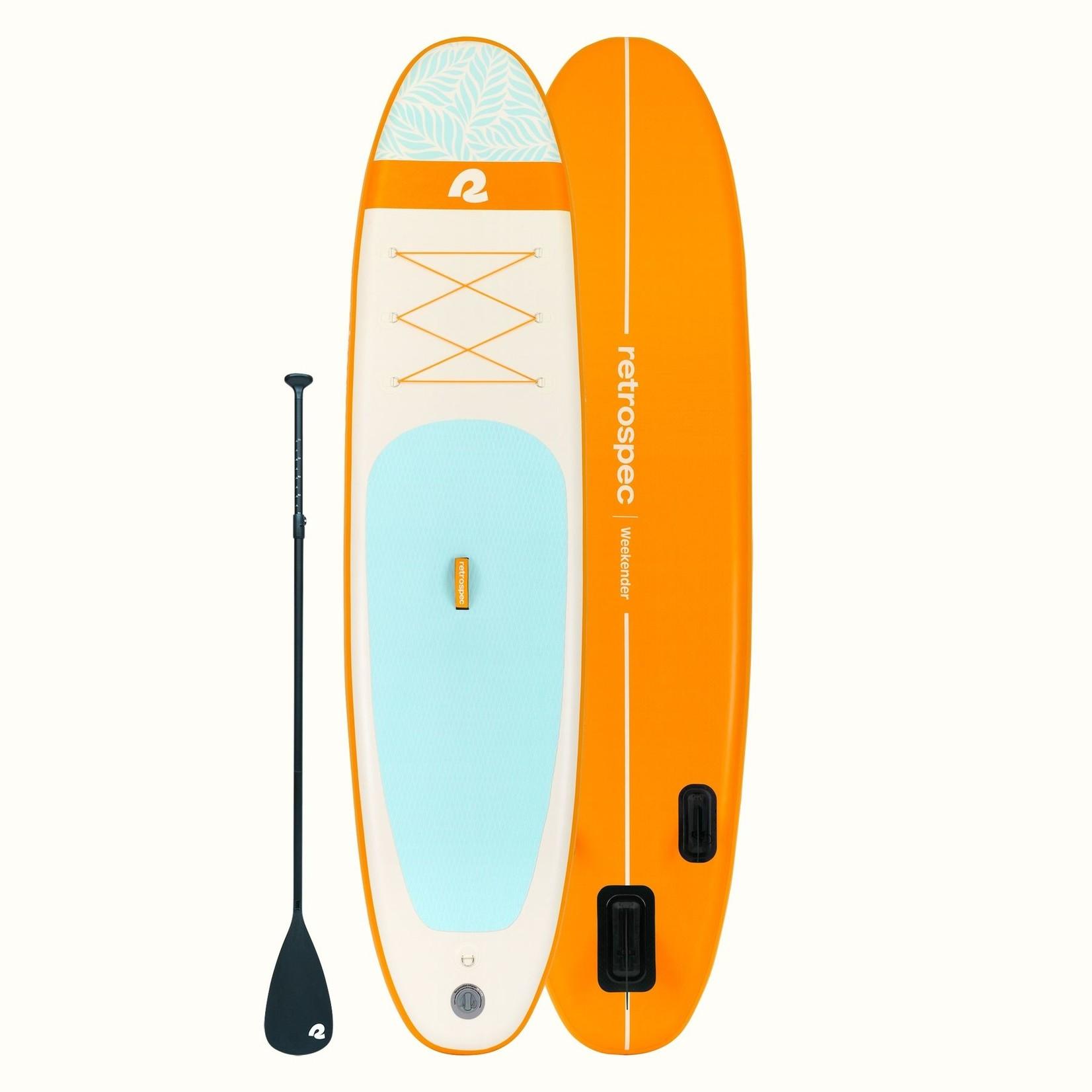 Retrospec Weekender Paddleboard 10' Creamsicle