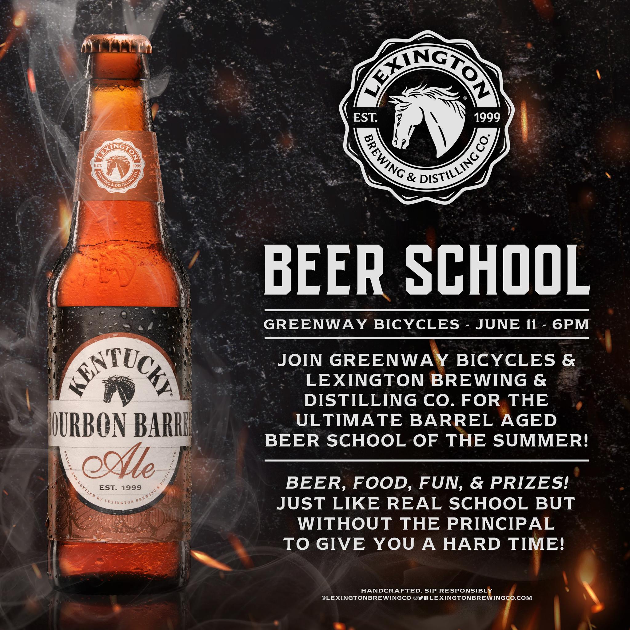 Beer school is back!