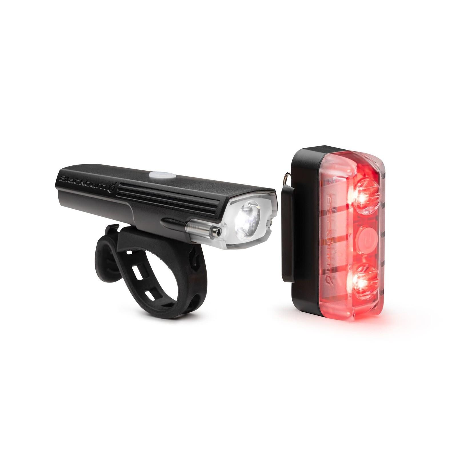 LIGHT Blackburn Dayblazer 400 Front/65 Rear Light Combo - Black