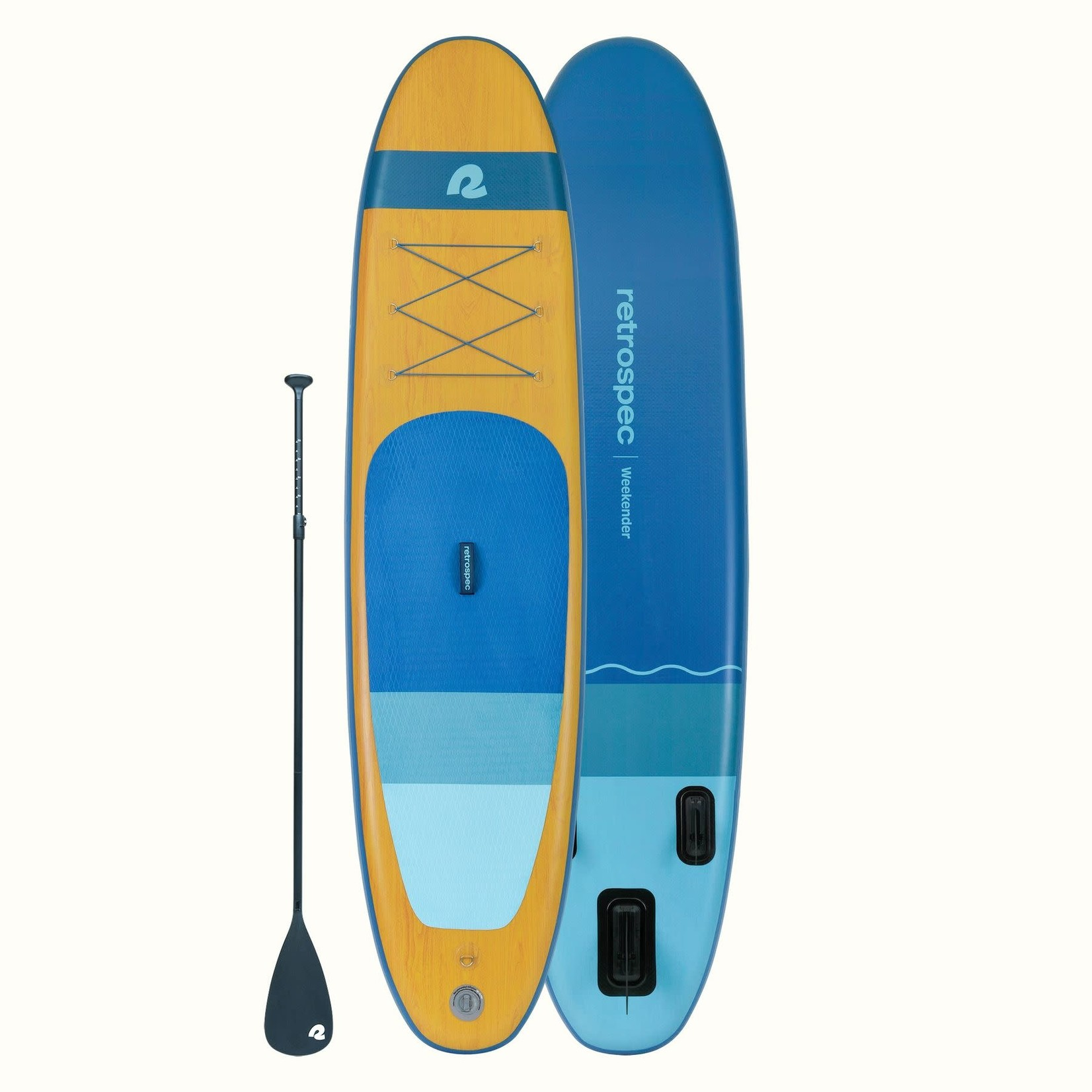 Retrospec Retrospec Weekender Paddleboard 10' Nautical Blue