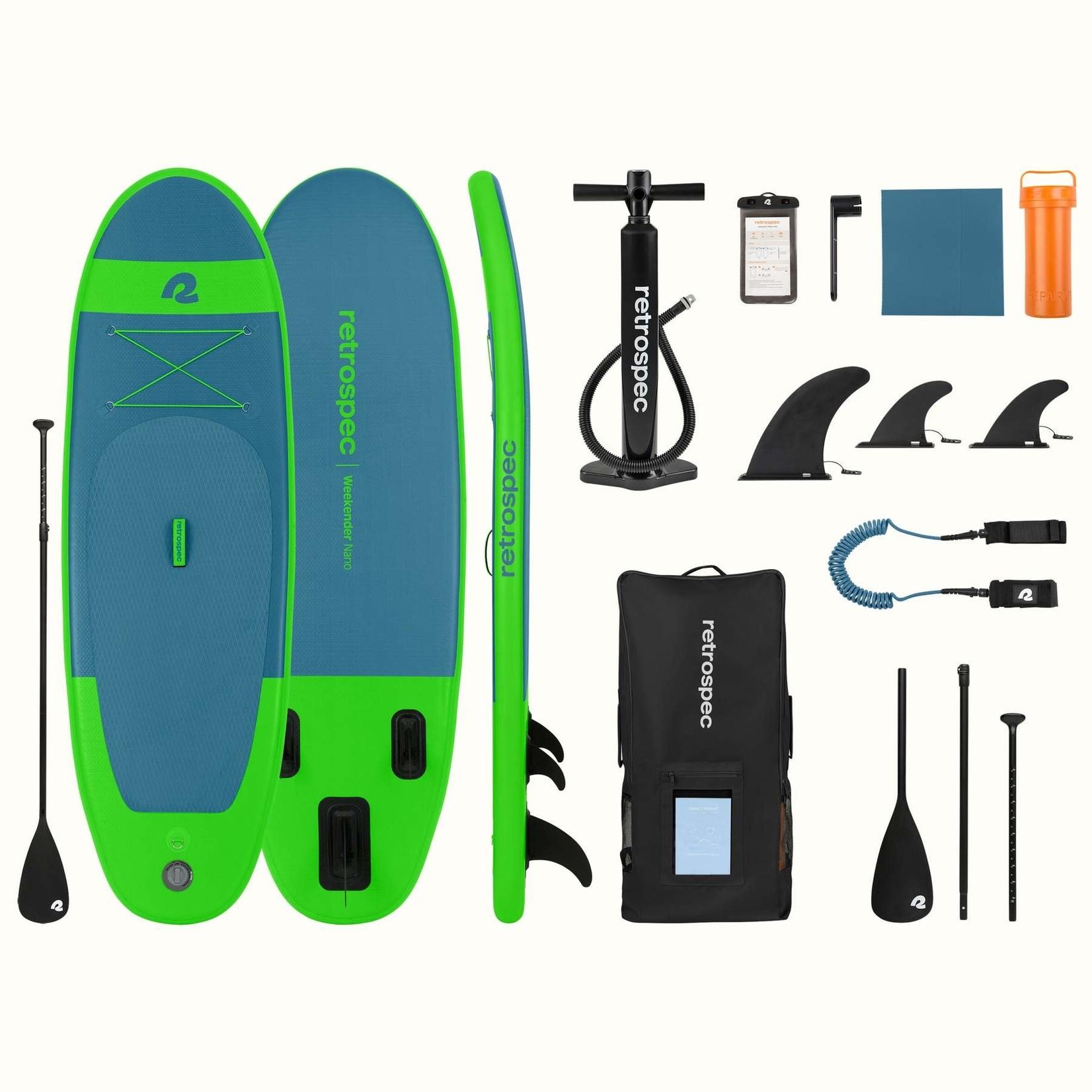 Retrospec Retrospec Weekender Nano Paddleboard 8' Marine Blue