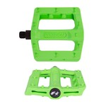 "Fyxation Gates Slim Pedals - Platform, Plastic, 9/16"", Green"