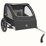 Retrospec Rover Bike Trailer 2 passenger Black
