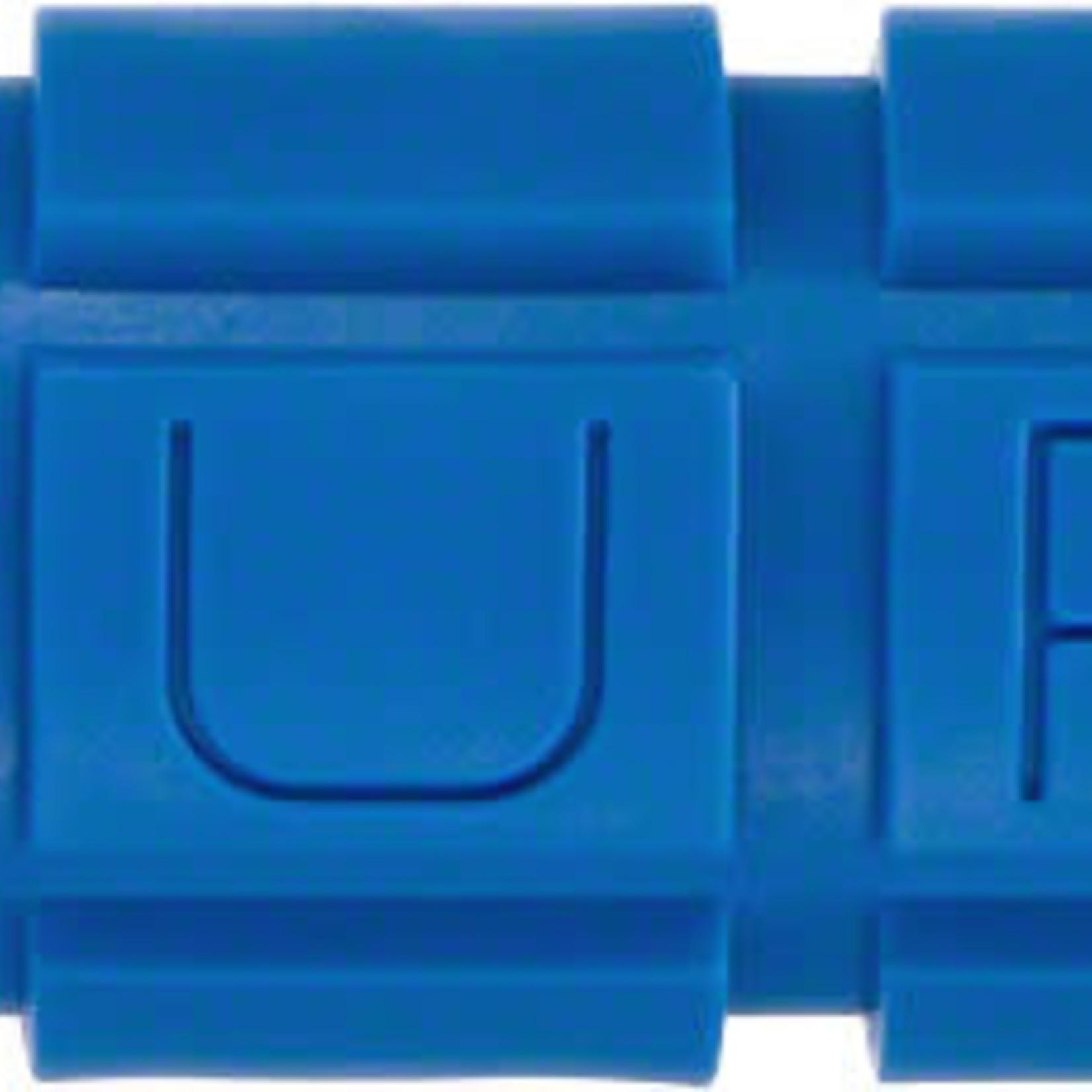 Oury Lock-On Bonus Pack Grips - Blue, Lock-On