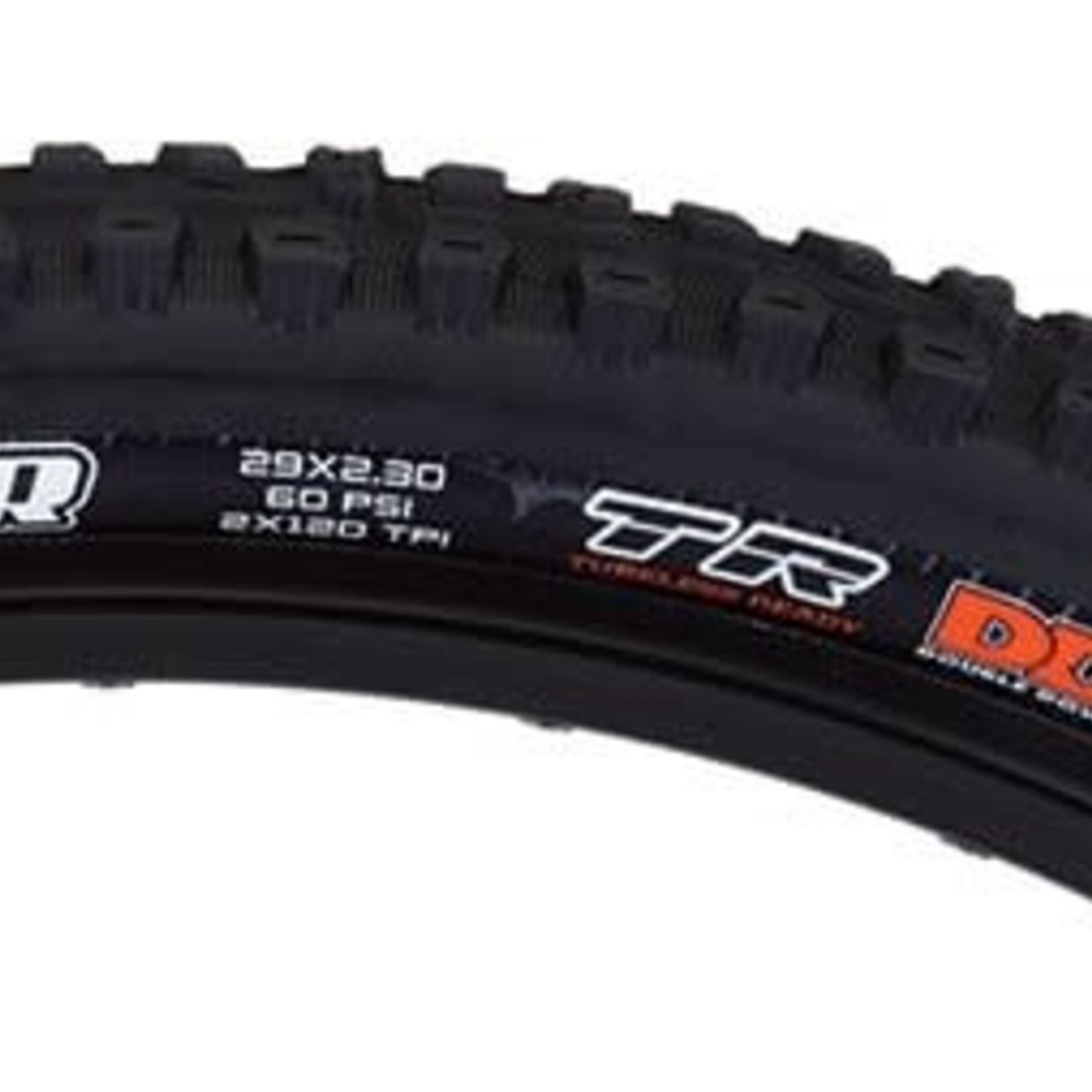 Aggressor Tire - 29 x 2.3, Tubeless, Folding, Black, Dual, DD