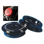 "Niner Bikes YAWYD headset top cap, 1-1/8""  w/ carbon plug"