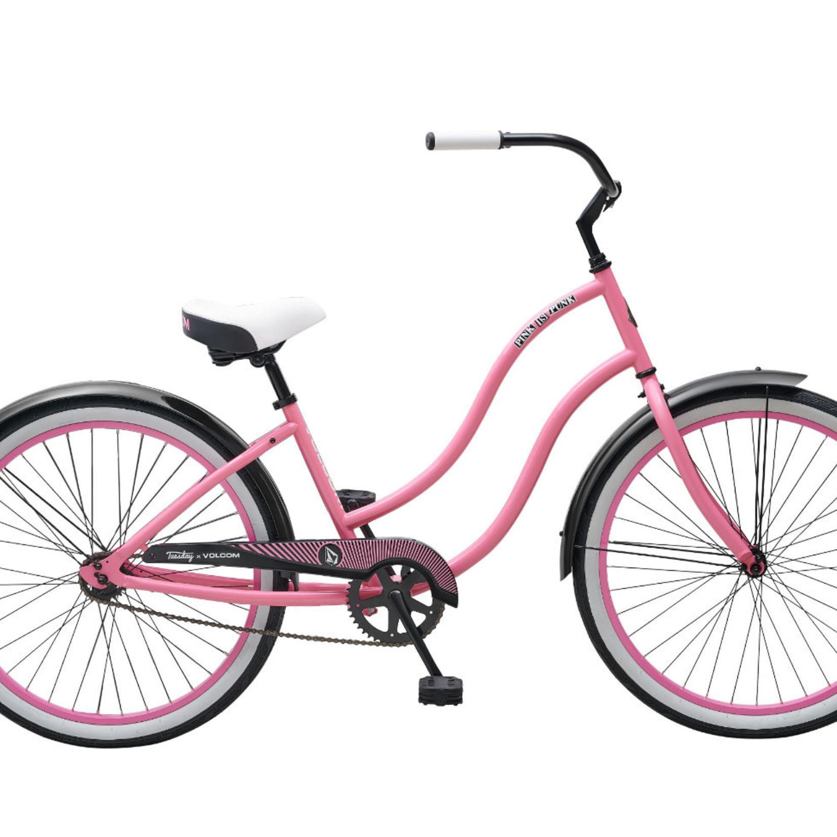 "Tuesday X Volcom June 1 16"" Pink"