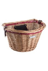 Wicker Honey Front Lift-Off Basket