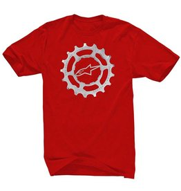 AlpineStars FORGED TEE RED L