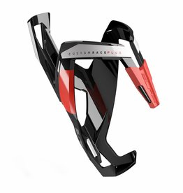 Bottle Cage Custom Race Plus  Glossy Black/Red