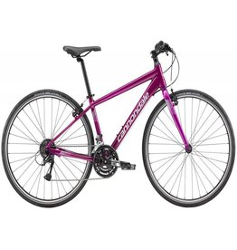 cannondale Hybrid Bike Quick 6 Purple SM