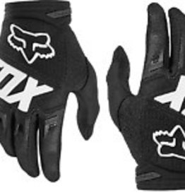 Fox Racing Dirtpaw Men's Full Finger Glove: Black LG