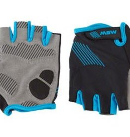 MSW Gloves GLV-200 Thumbs Up Black/Gray LG