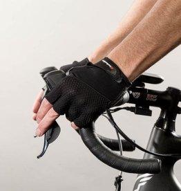 Gel Supreme Men's Short Finger Glove: Black XL