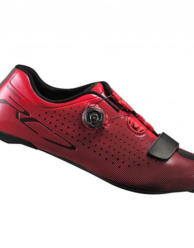 Shimano SH-RC7 Lightweight Competition Cycling Shoe 45 red