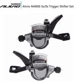 Shimano SHIFT/BRAKE LEVER SET, ST-M4000, ALIVIO