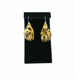 Rice Collector Gourd Earrings