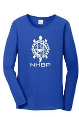 NHBP Ladies Cotton Long Sleeve Tee
