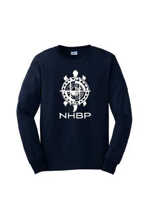 NHBP Men's Ultra Cotton Long Sleeve Tee