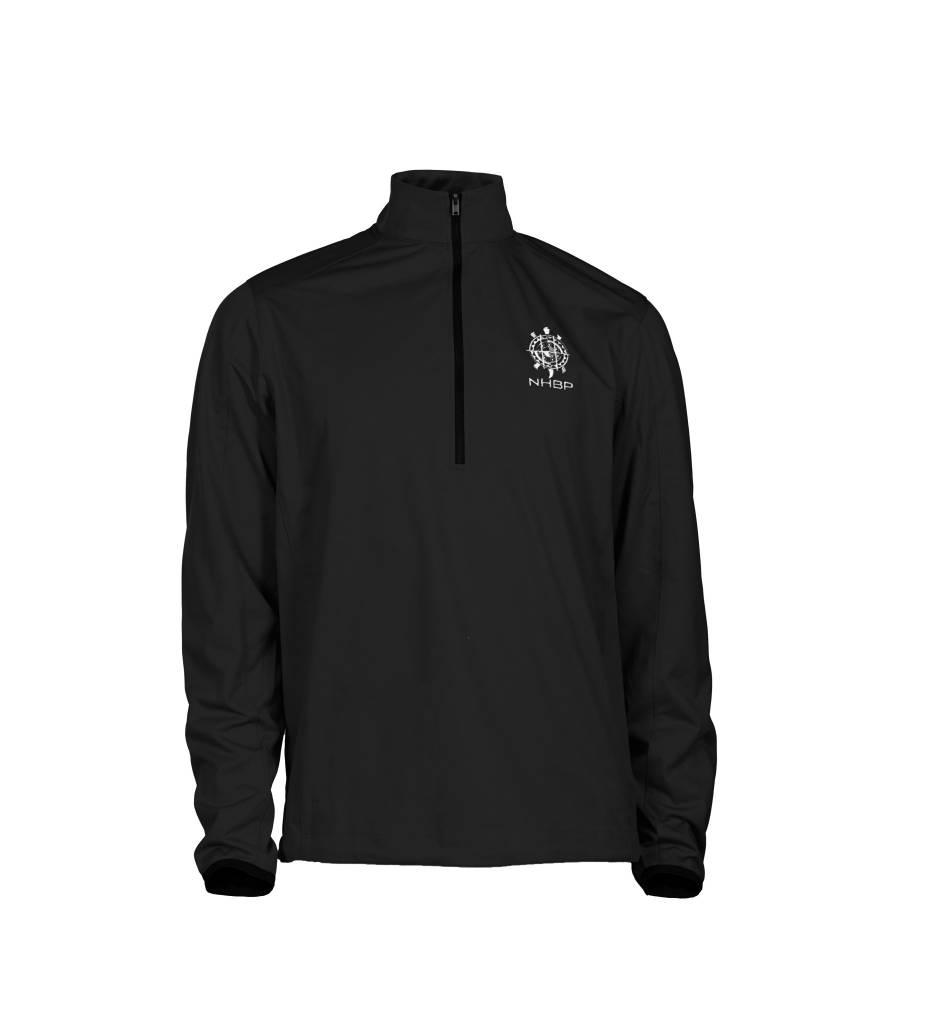 NHBP Men's Active 1/2-Zip Soft Shell Jacket