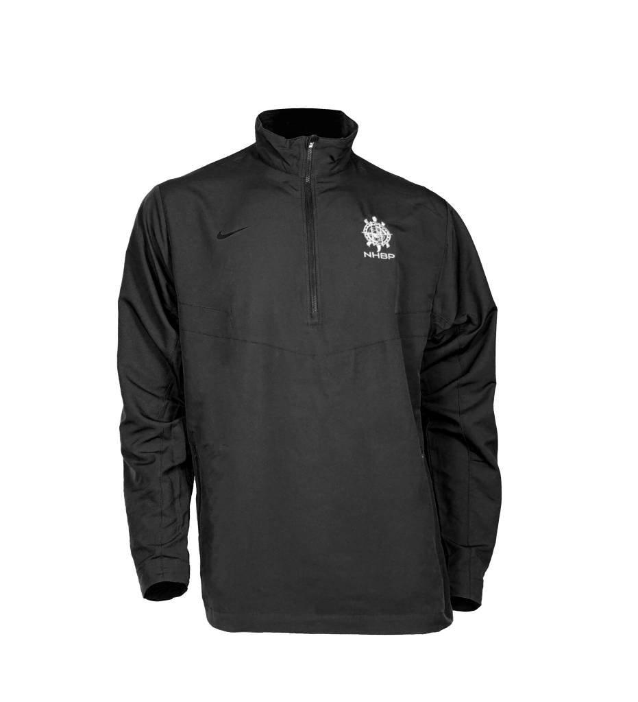 NHBP Men's Nike Golf 1/2-Zip Wind Shirt