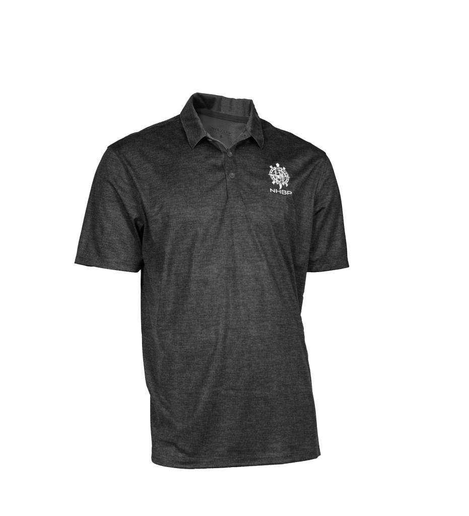 ed130ae9e83db NHBP Men's Nike Golf Dri-FIT Crosshatch Polo - Bkede O Mshike