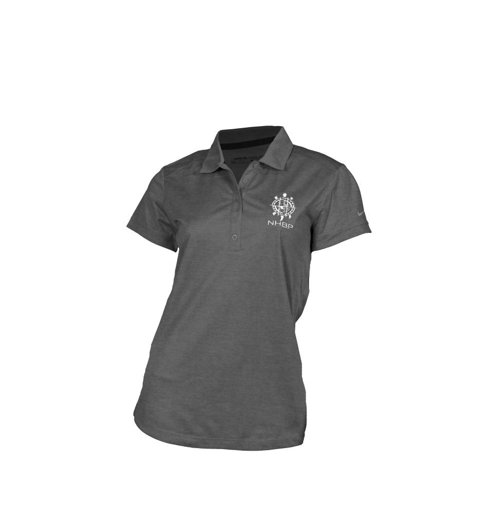 c84253dca0341 NHBP Nike Golf Ladies Dri-FIT Crosshatch Polo - Bkede O Mshike