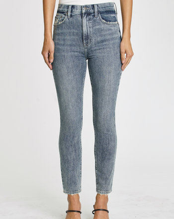 JEANS TAILLE HAUTE CARA