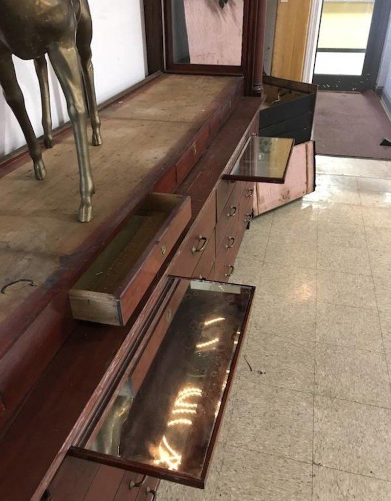 R&F Antique Jewelry Display Case $550